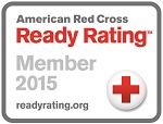 Image of American Red Cross Ready Rating™ Member 2015 Seal.