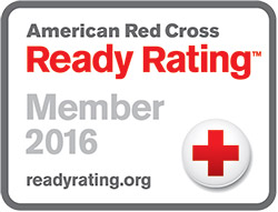 Image of American Red Cross Ready Rating™ Member 2016 Seal.